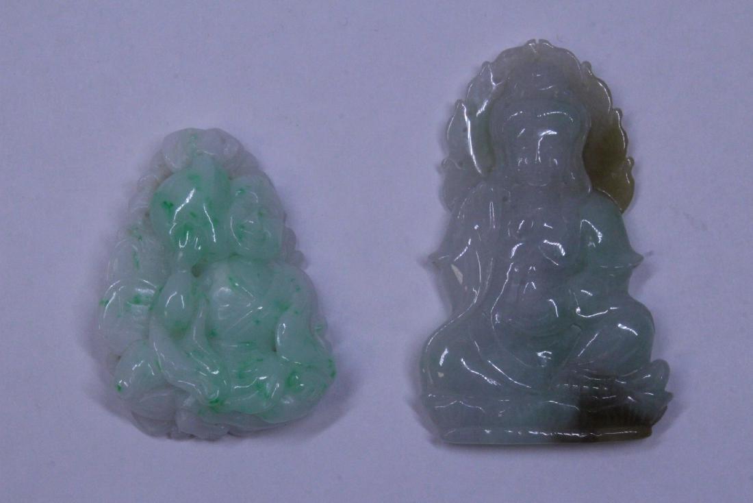 7 jadeite carvings - 6