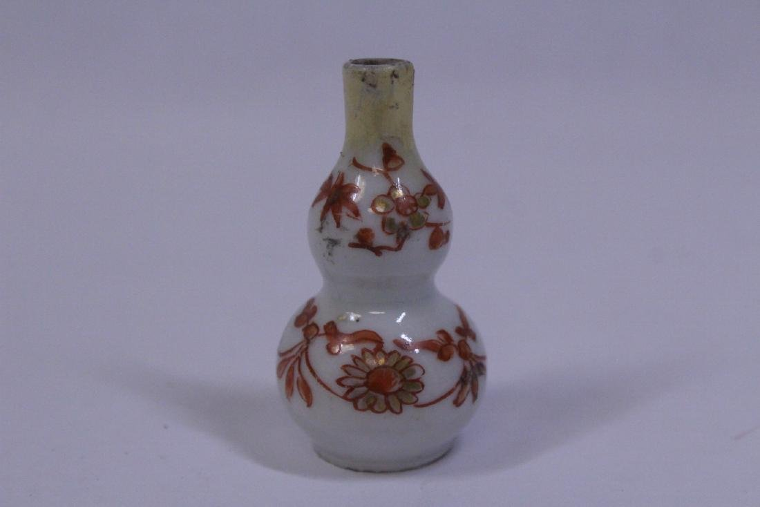 3 Chinese vintage snuff bottles - 8