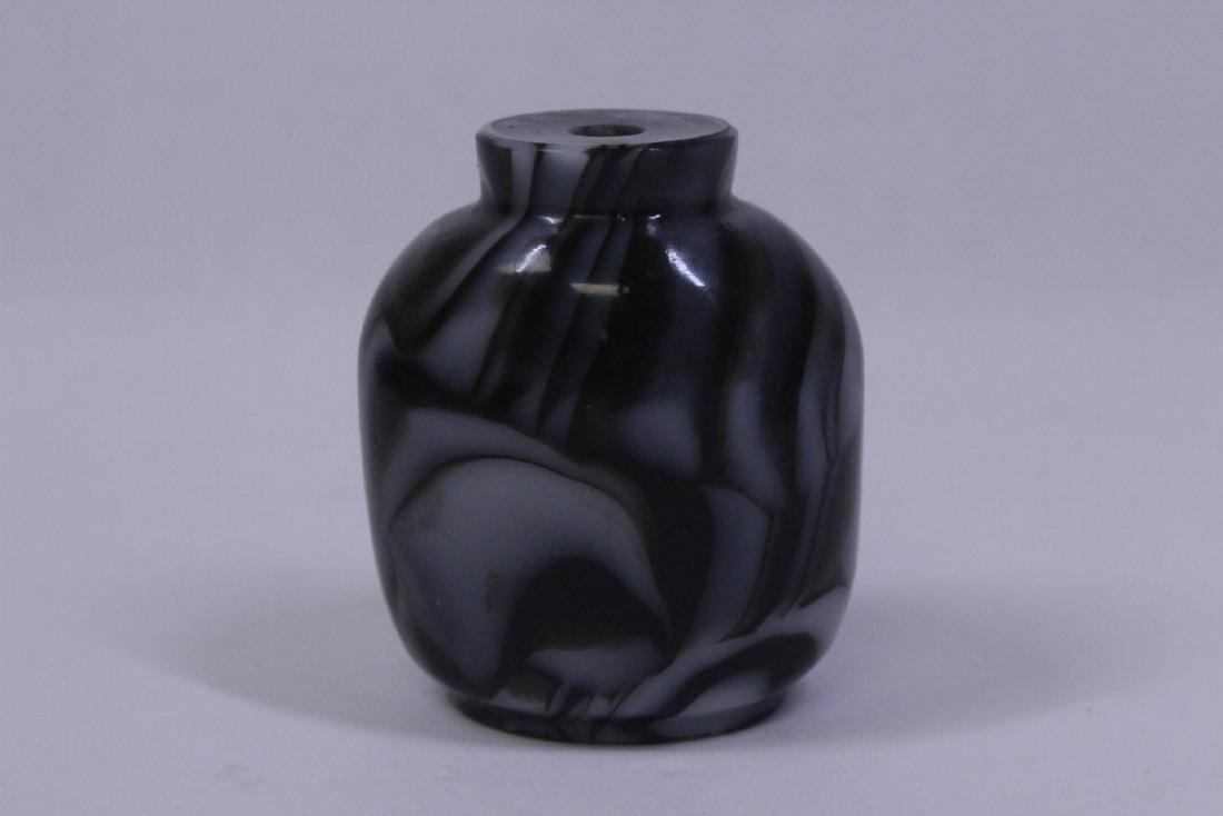 2 Chinese vintage Peking glass snuff bottle - 9