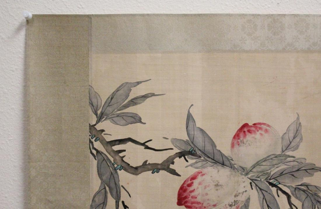 Chinese watercolor panel - 2