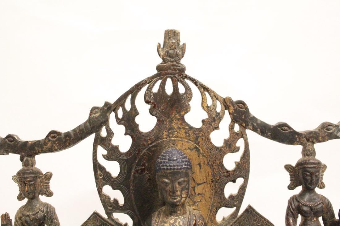 Chinese bronze sculpture of Buddha - 2