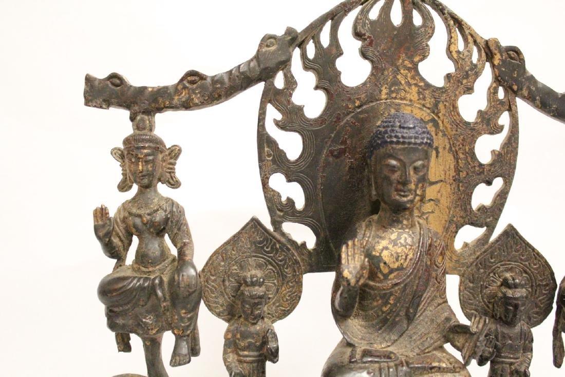 Chinese bronze sculpture of Buddha - 3