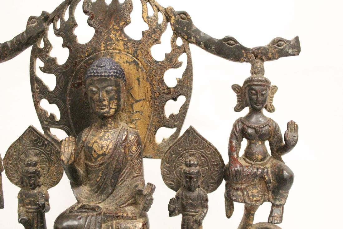 Chinese bronze sculpture of Buddha - 4