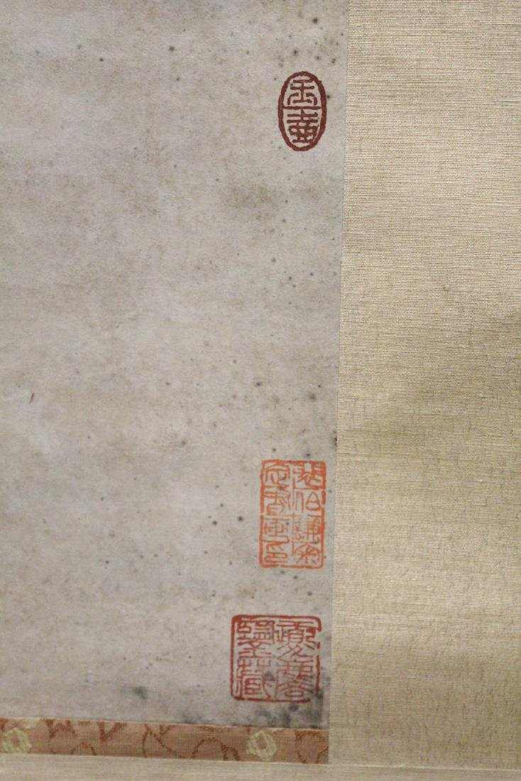 Chinese watercolor scroll - 9