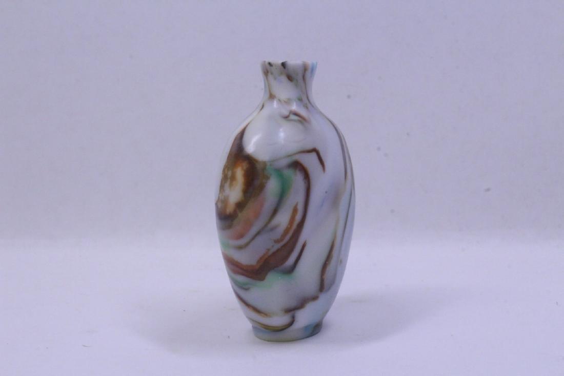 Peking glass snuff bottle - 5