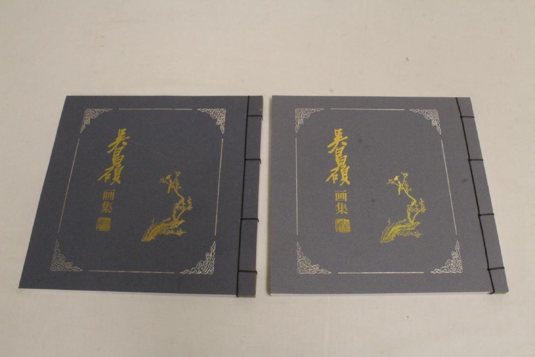 Set of Chinese painting reference books - 2