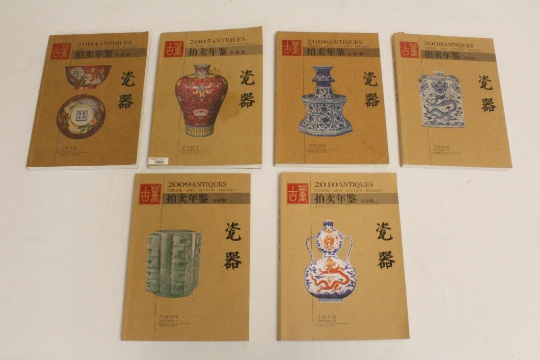 Set of Chinese porcelain reference books