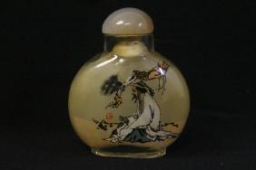 A beautiful inside painted snuff bottle