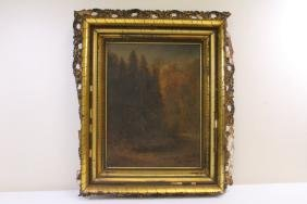Early 19th c. o/c painting, signed, dated