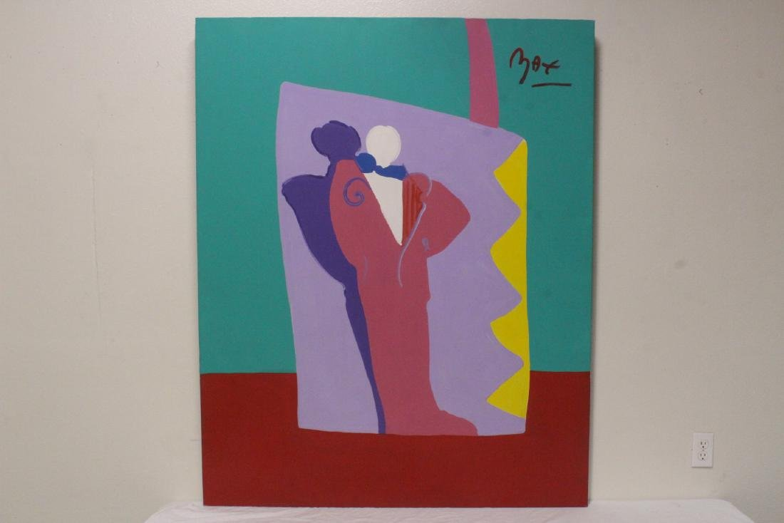 An important o/c painting by Peter Max w/ appraisal