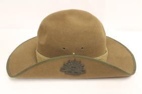 Australian WWII officer hat