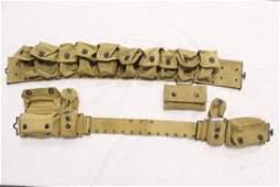 2 rare US WWI medical personal belt