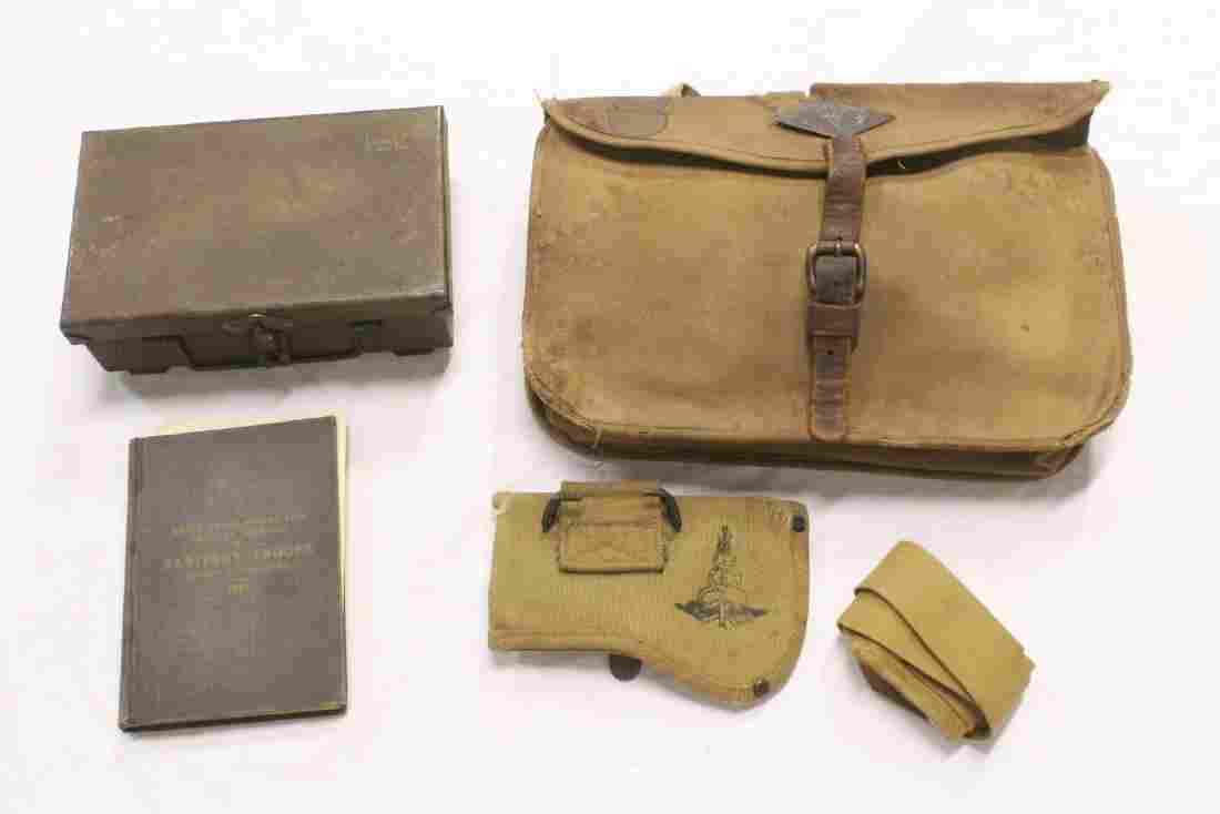 Lot of misc. US WWI medical items