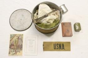 Misc. US WWI items with small pamphlet