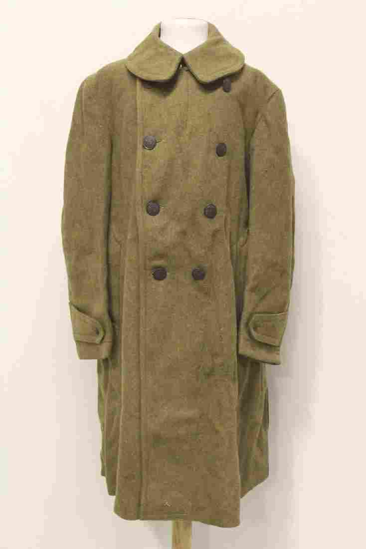 US WWI Army overcoat