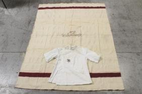 US WWI medical corps blanket and uniform