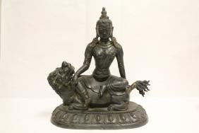A fine Chinese bronze sculpture