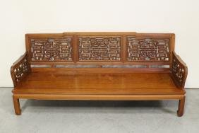 Chinese Rosewood 3-seat Couch
