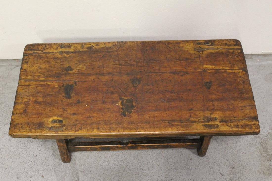 18th/19th century Chinese wood low table - 2