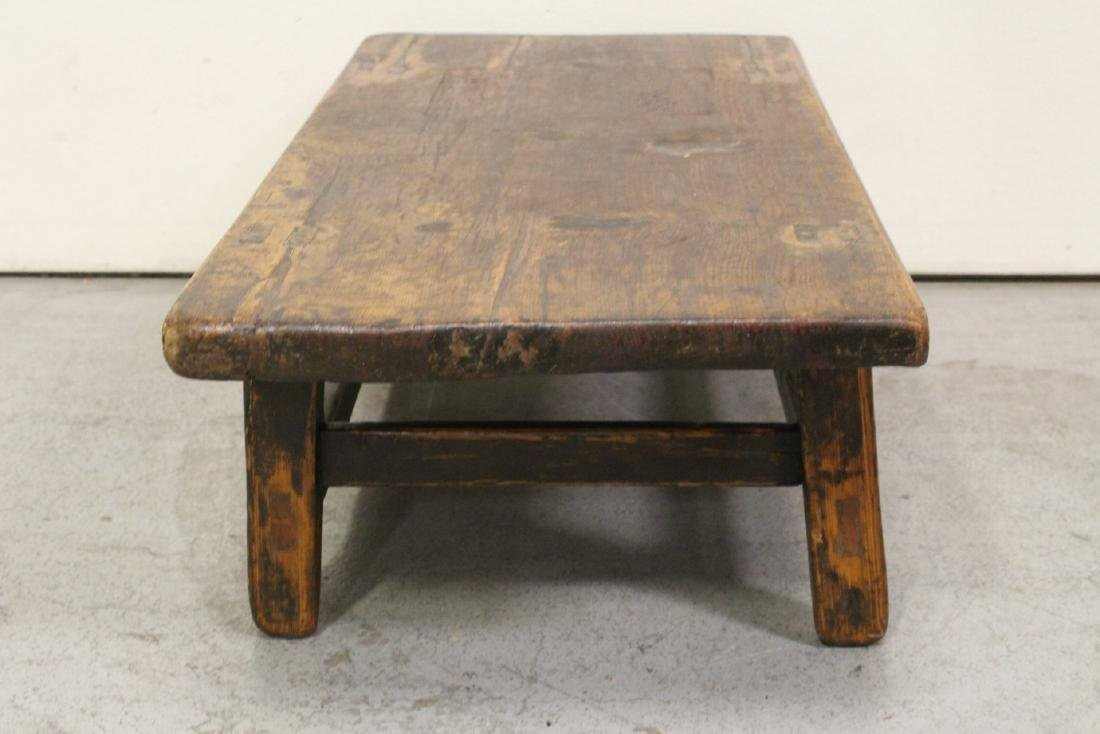 18th/19th century Chinese wood low table - 7