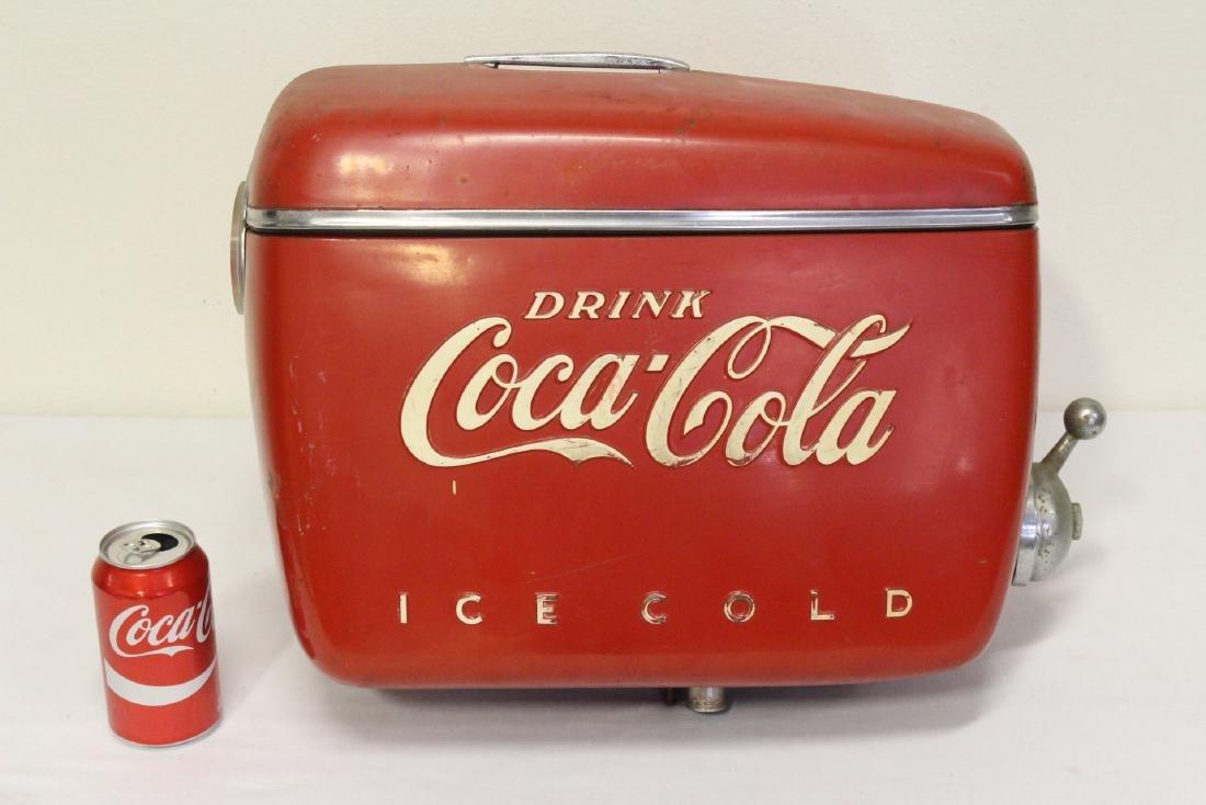 A rare original Coca Cola soda fountain dispenser