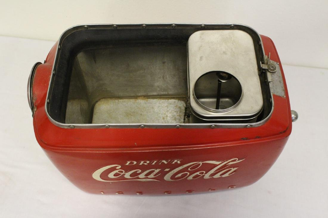 A rare original Coca Cola soda fountain dispenser - 4