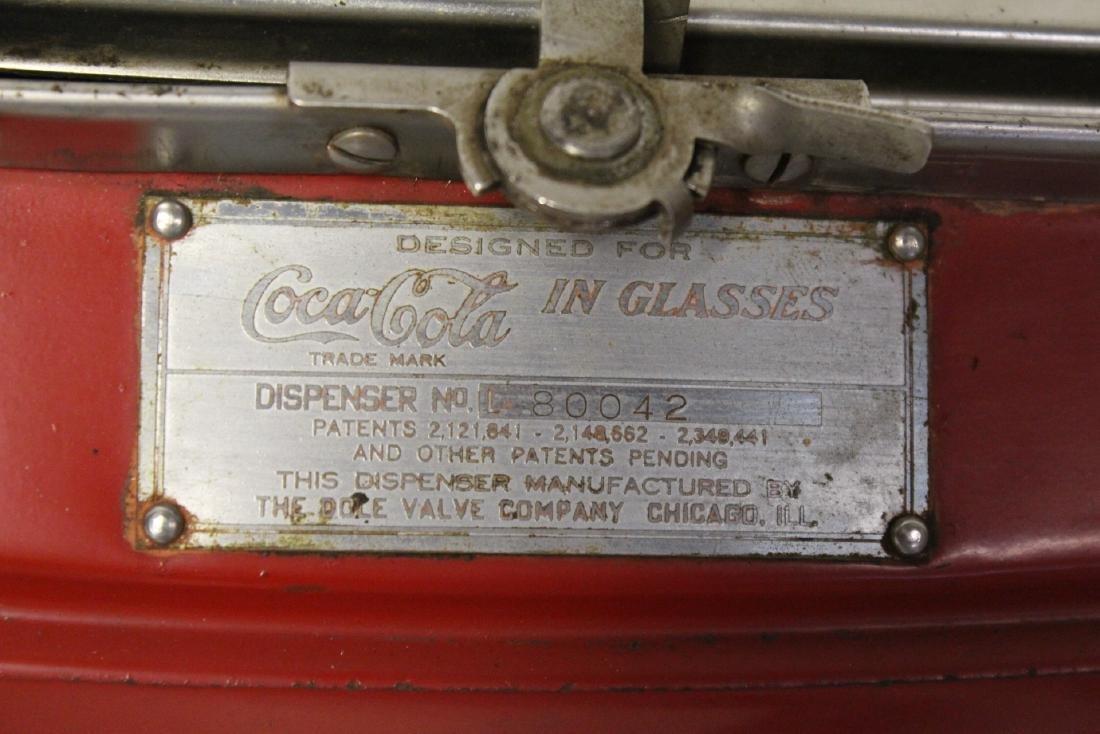 A rare original Coca Cola soda fountain dispenser - 6