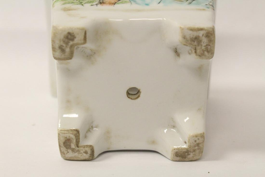 A fine Chinese famille rose porcelain planter - 9
