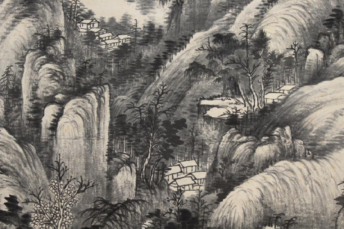 Chinese watercolor scroll - 7