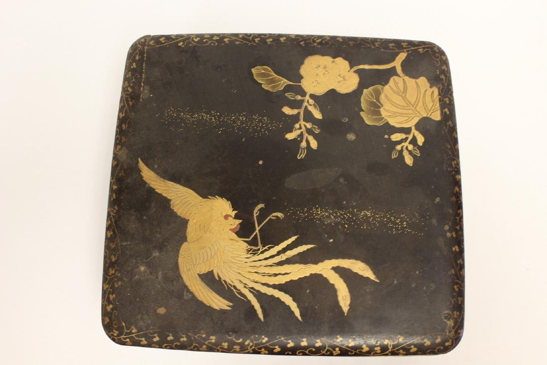 Japanese lacquer box - 2