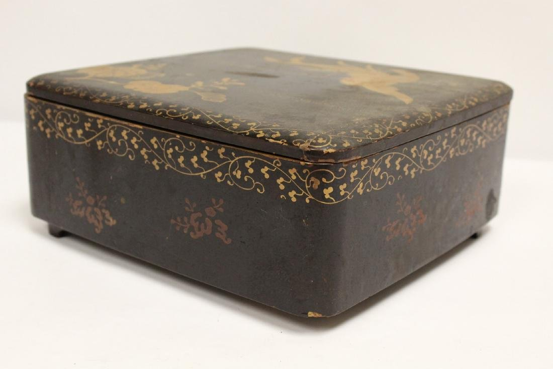 Japanese lacquer box - 9