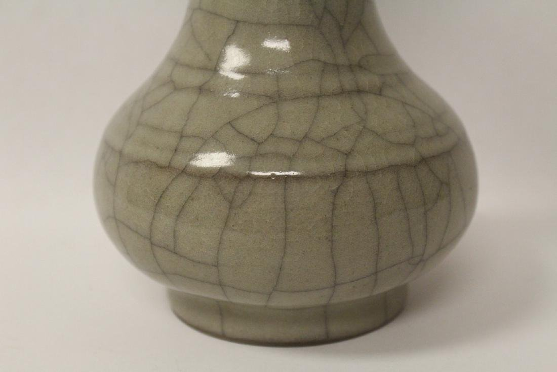 Chinese Song style crackle ware porcelain vase - 5