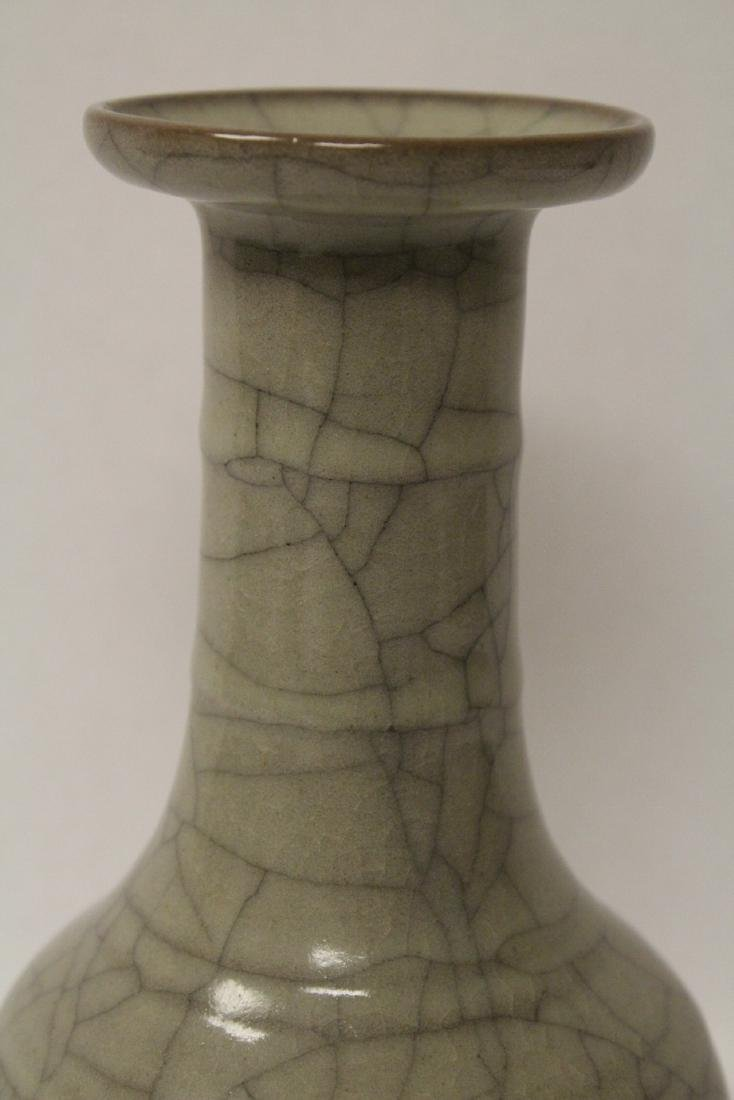 Chinese Song style crackle ware porcelain vase - 6