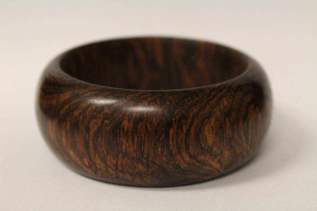 Chinese wood bangle bracelet, and bead bracelet - 2
