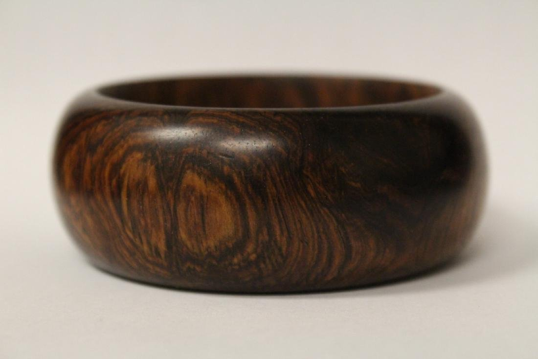 Chinese wood bangle bracelet, and bead bracelet - 3