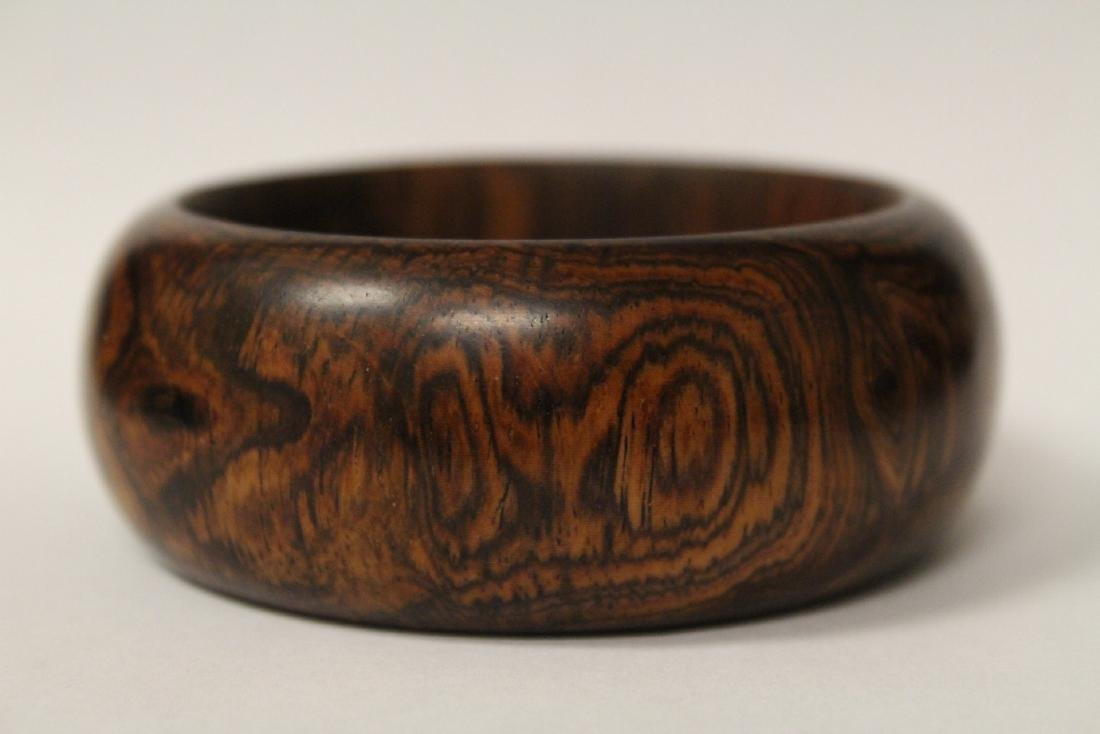 Chinese wood bangle bracelet, and bead bracelet - 4