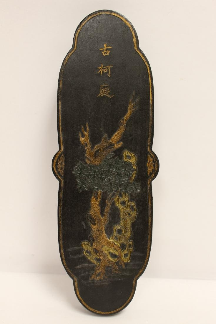 2 Chinese large ink sticks - 5