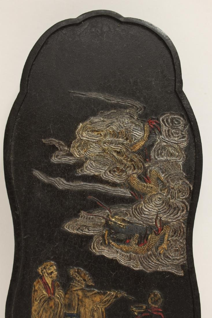 2 Chinese large ink sticks - 8