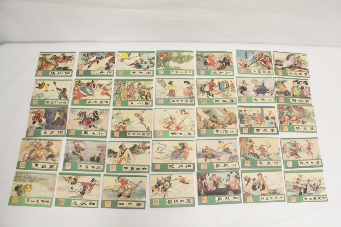 Set of comic books