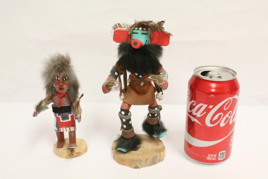 2 Kachina dolls - 2