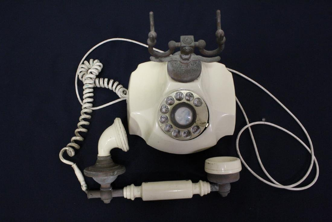 Vintage rotary desk telephone - 2