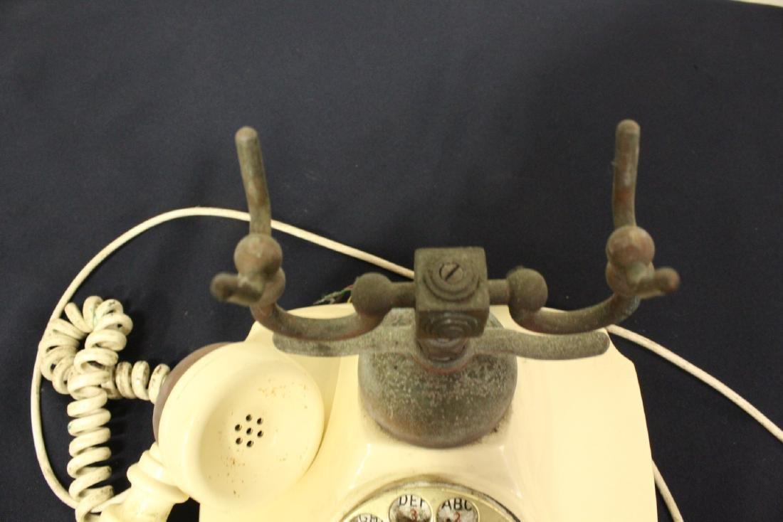 Vintage rotary desk telephone - 5