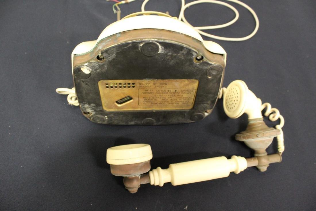 Vintage rotary desk telephone - 9