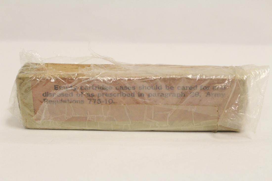 Box of WWI 0.45 caliber ammunition, dated 1911 - 5