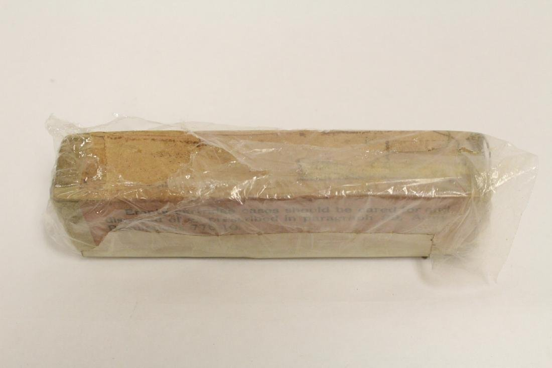 Box of WWI 0.45 caliber ammunition, dated 1911 - 7