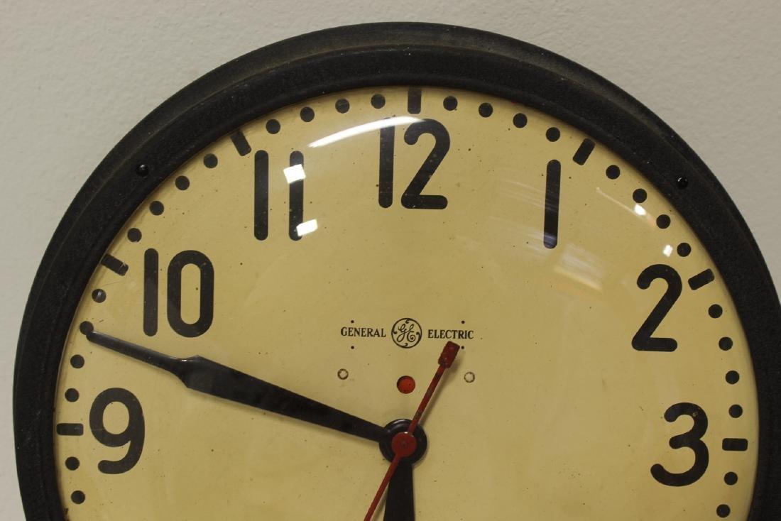 2 vintage school wall clocks - 3