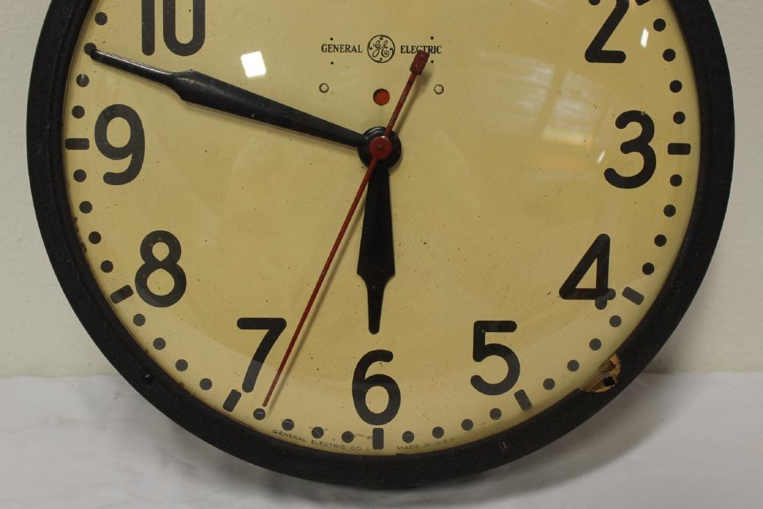 2 vintage school wall clocks - 4