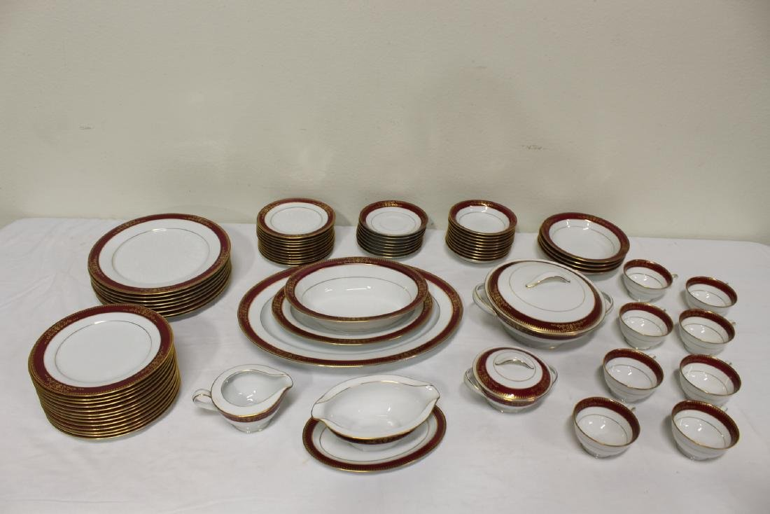 Large Noritake china set