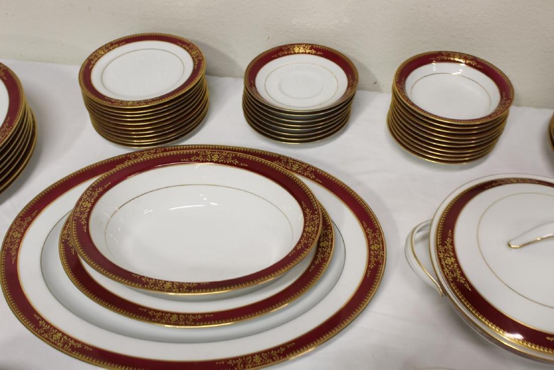 Large Noritake china set - 4