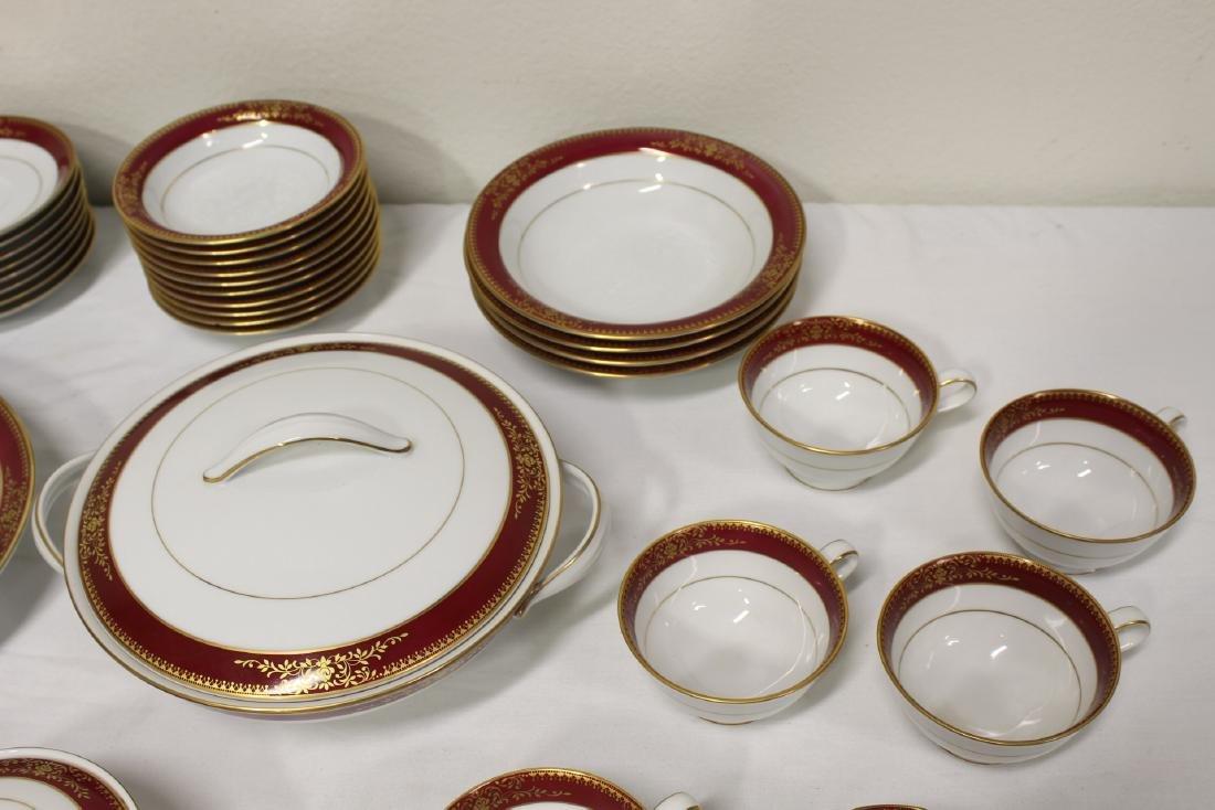 Large Noritake china set - 5